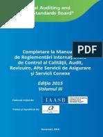 2015 IAASB Handbook Part III RO