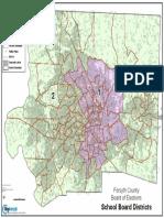 WS/FCS Board District Map