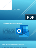 How to create Outlook account?