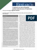 Impact of Influenza Exposure Among Pregnant Women Dodds_CMAJ 2007