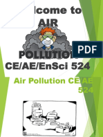 Introduction to Air Pollution