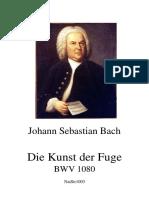 J. S. Bach - El Arte de La Fuga, BWV 1080 (General)