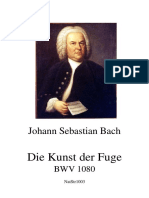 J. S. Bach - El Arte de La Fuga, BWV 1080 (Original)