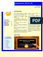 Resumen Programacion 2019- 20docx