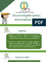 Ejercicio Etico y Responsabilidad Social Del Ingeniero Quimico