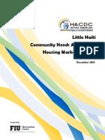 Little Haiti Community Needs Assessment