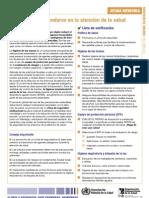 Precauciones Estandares en La Atencion de La Salud_OMS_OCT 2007