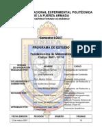 FUNDAMENTOS DE MATEM TICA 20032007