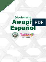 Awa pit Español Diccionario