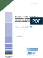 Prevencion y Control de Infeccion_OMS_Junio de 2007