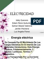 diapocitivas de electricidad