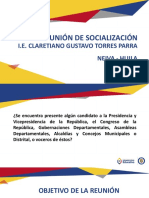 II Reunión de Socialización Avance 50  Neiva  IE Claretiano Gustavo Torres Parra - Neiva.pptx