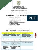 TEORIAS DE LA GESTION EDUCATIVA (PRACTICA N° 04)
