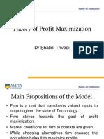Df3f1Theory of Profit Maximization n Baumoul Sales