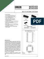 BCD to DECIMAL  decoder