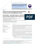 Current use of Resuscitative Endovascular Balloon Occlusion of the Aorta (REBOA) in trauma?