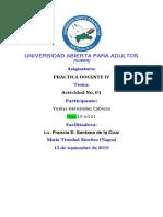 Yicelys Hernández Cabrera 010 10 10 1 0 1 01 0 1 0 1 01