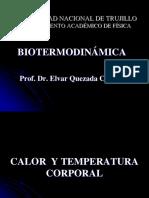 BIOTERMODINAMICA - SEMANA 5