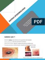 ANTRAX EPIDEMIOLOGIA