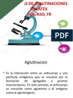 Aglutinacion Pasiva Fr Pcr