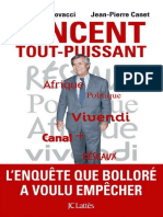 Vincent BOLLORE Tout Puissant