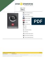 Zenitel - TCIS-2  - 1008111020