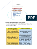 Caso N3 Sponsor y Factores Ambientales