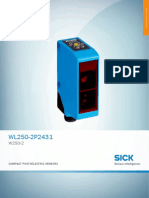 Datasheet sensor sick