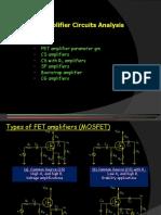 Amplifier Circuits Analysis - Gdlc.ppt