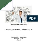 Propuesta de Negocio de Tienda Virtual de Cafe