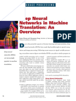Deep Neural Networks in Machine Translation