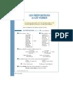 Preposiciones francesas