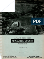 Atlas & Plat Book Kewaunee County Wisconsin 1972