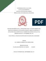 Estudio descriptivo de la infraestructura y funcionamiento del servicio de Medicina Nuclear del Hospital Médico Quirúrgico y Oncológico del Instituto Salvadoreño del Seguro Social en el periodo de Mayo a Noviemb.pdf