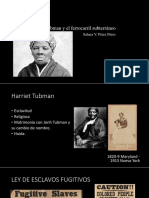 Unidad 5 Harriet Tubman y el ferrocarril subterráneo - Sahara Pérez