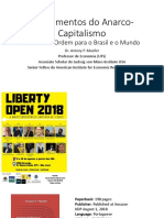 Anarcho-Capitalismo Apresenta o No Liberty Open 9 de Agosto de 2018