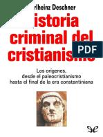 Historia Criminal Del Cristianismo 01 - Deschner, Karlheinz