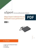 USport Universal Bluetooth Adapter