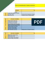 Cronograma de Exposicion- Aplicaciones de La Refrigeracion