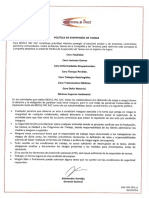 GGE-DeS-004 v1 Política Suspension Tareas