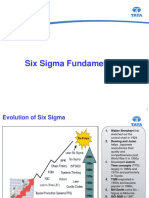 Quality Fundamentals 1 - Six Sigma