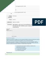 Fase 1 - Quiz - Validar Los Fundamentos Teóricos Del Curso de Diseño de Plantas Industriales. Corregido