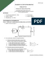 EP1 192s - Prat 3 B - Retificador Monofásico Com Filtro Indutivo