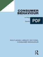 (RLE Consumer Behaviour) Gordon R. Foxall-Consumer Behaviour_ a Practical Guide-Routledge (2014)