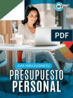 Guía Para Cuidar Tu Presupuesto Personal - eBook
