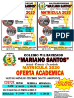 MATRICULA 2020