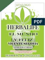Herbalife Catalogo Vicente