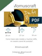 papercraft mask