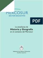enseñanza de la historia Mercosur