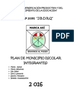 Plan de Municipio Escolar